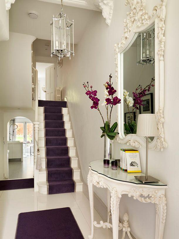 Vamos te convencer a colocar espelhos pela casa toda! Que tal #decoração #vitoriana