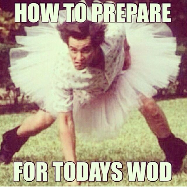 How to prepare for today's WOD