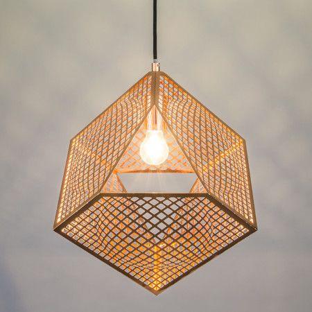 Lampa wisząca Basket miedź, cena 745zł