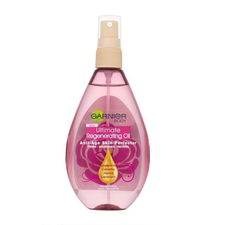 Garnier Body Ultimate Regenerating Oil Anti-Age Skin Perfector 150ml - feelunique.com