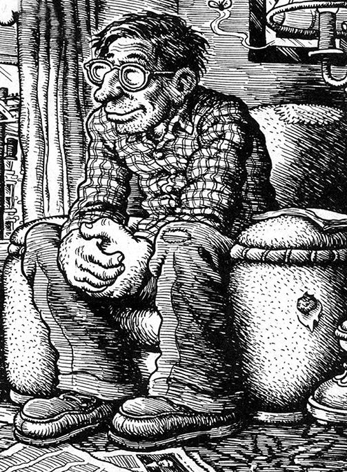 Robert Crumb by himself (underground comics)