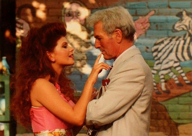 Lolita Davidovich & Paul Newman in Blaze (1989)  