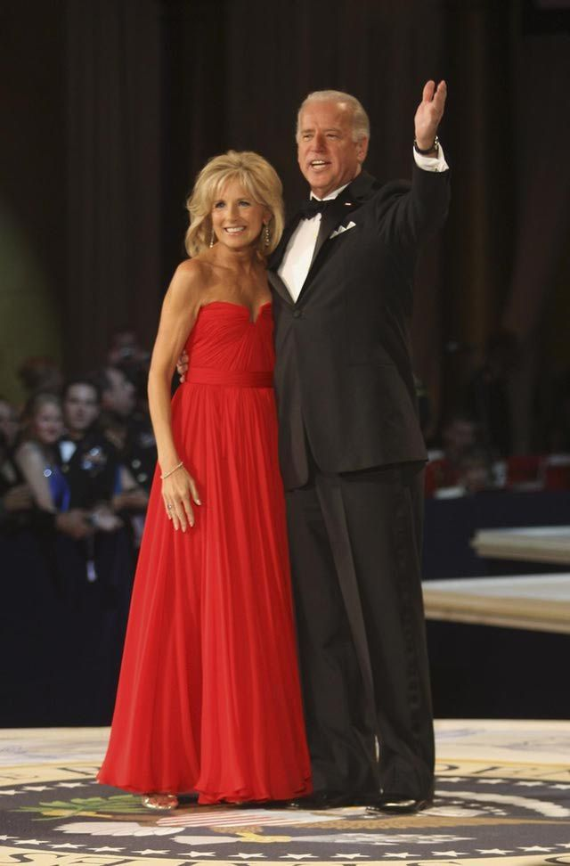 Inauguration Pictures 2009 : Joe and Jill Biden at Inaugural Ball