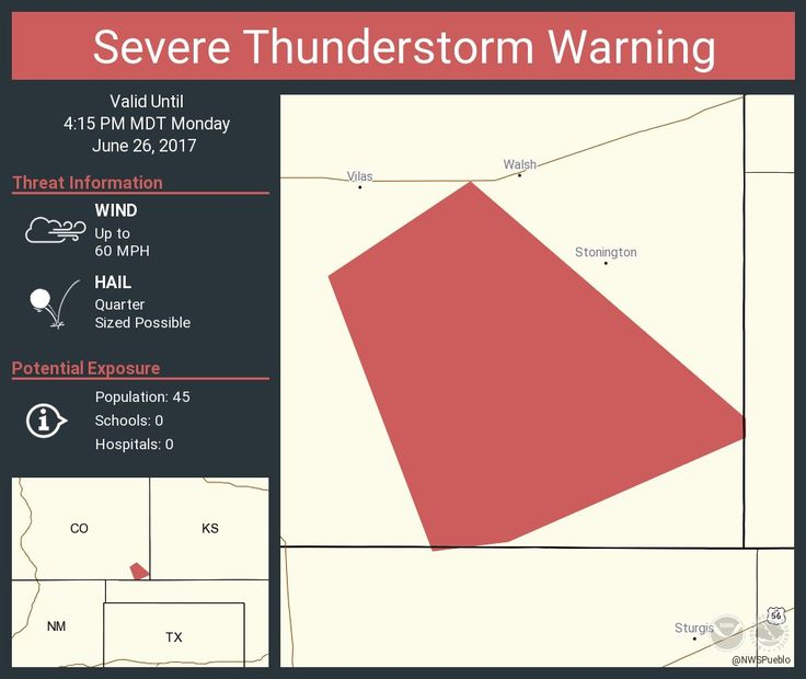 Severe Thunderstorm Warning including Baca County, CO until 4:15 PM MDTpic.twitter.com/Onpg4Zsvky - https://blog.clairepeetz.com/severe-thunderstorm-warning-including-baca-county-co-until-415-pm-mdtpic-twitter-comonpg4zsvky/