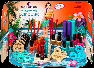 ticket to paradise - essence cosmetics