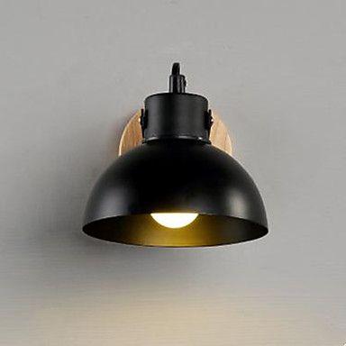 moderne minimalistisk kreativ træ trappe lampe soveværelse sengelampe væglampe førte midtergangen
