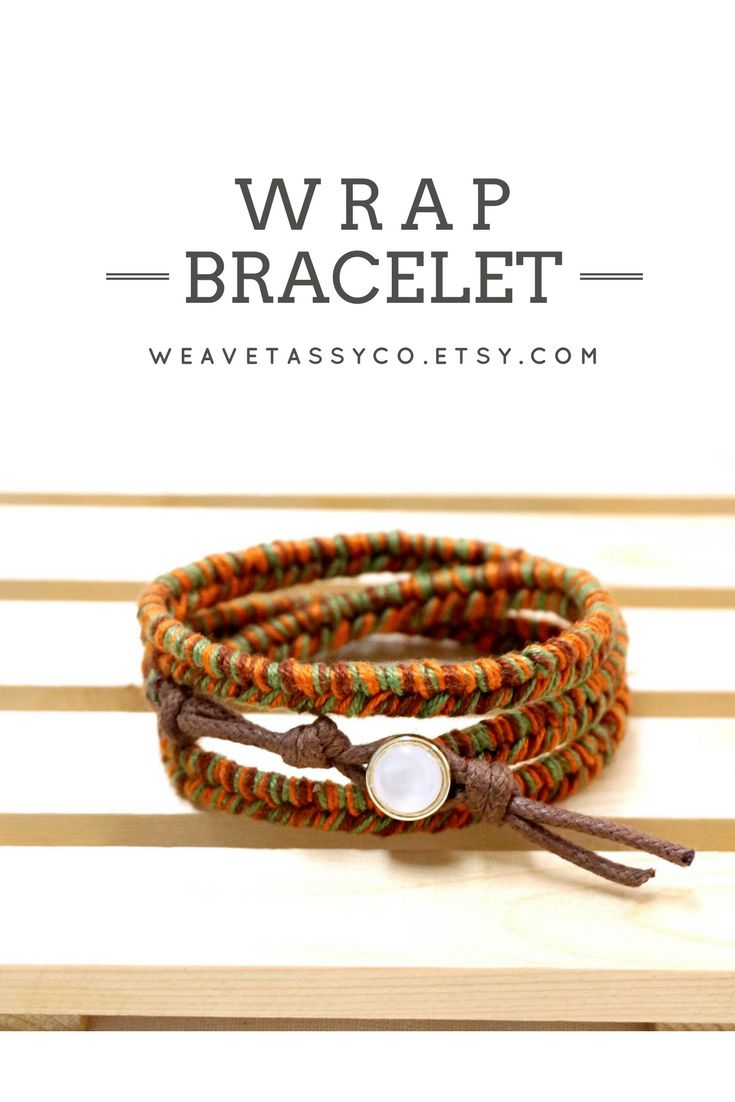 Bohemian Bracelet by @WeaveTassyCo | Are you looking for stackable boho inspired accessories? This boho wrap bracelet is perfect for a bohemian or even a casual everyday look! It's easy to wear and very comfortable for everyday use. You can wrap it three times around your wrist. Click to see more colors.