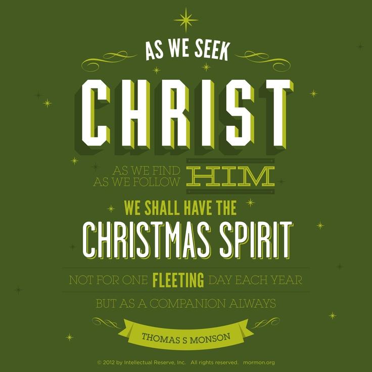 Charmant Thomas S. Monson Quote  Spirit Of Christmas U0026 Daily Companionship