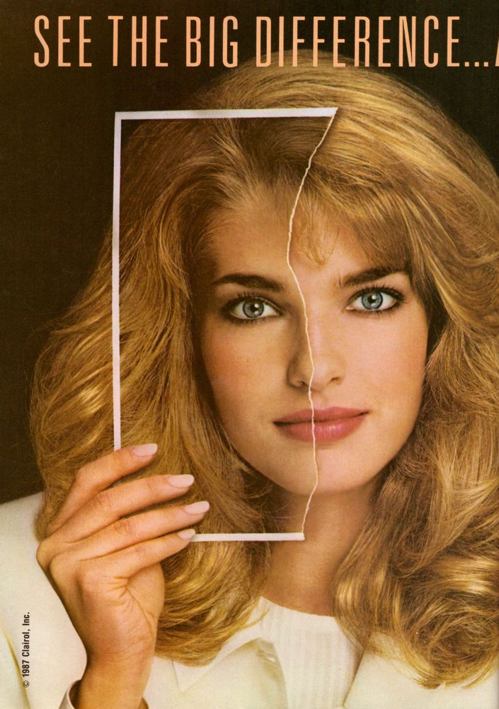 1987 clairol clairesse hair color