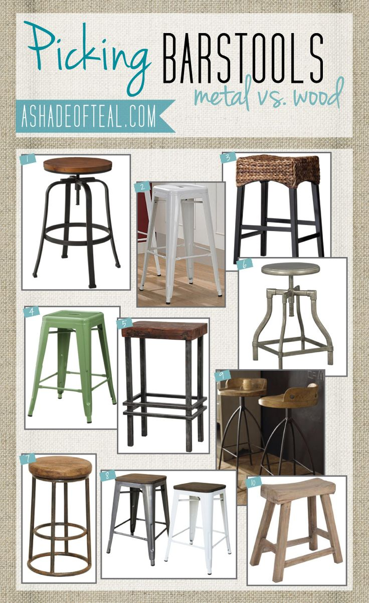 Picking A Barstool Wood Bar Stools Of And Shades