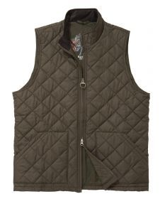 Barbour Mens Bosun Quilt Gilet - would look great over a sweater or under a tweed sport coat