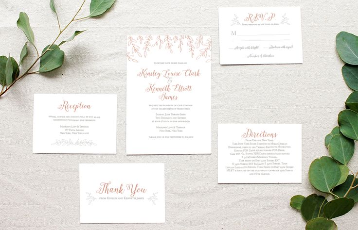 Letterpress Greenery Suite | Lynn + Lou Paper Co. Our Letterpress Greenery Invitation suite is inspired by the simple beauty of filler flowers in your wedding bouquet. Custom Wedding invitations. Click through to find even more gorgeous wedding invitations!!
