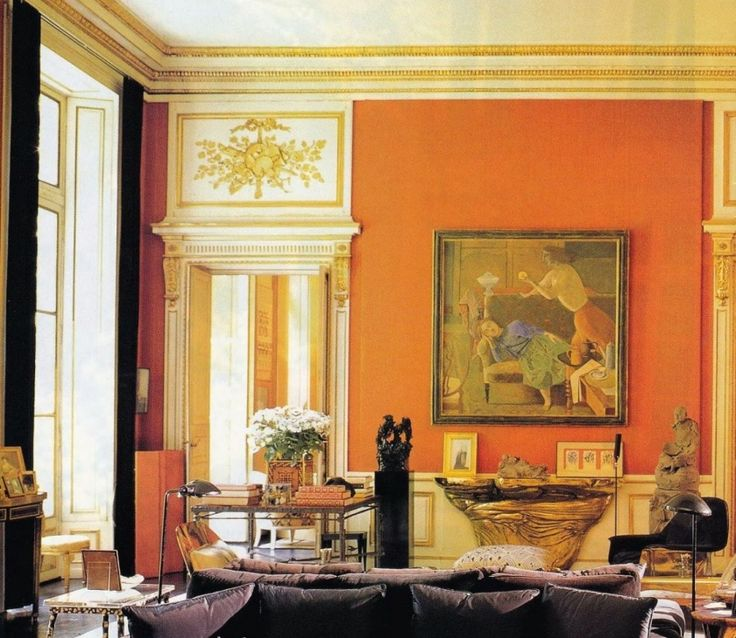 20 {Great} Shades of Orange Wall Paint {and Coral, Apricot, Kumquat...} - laurel home
