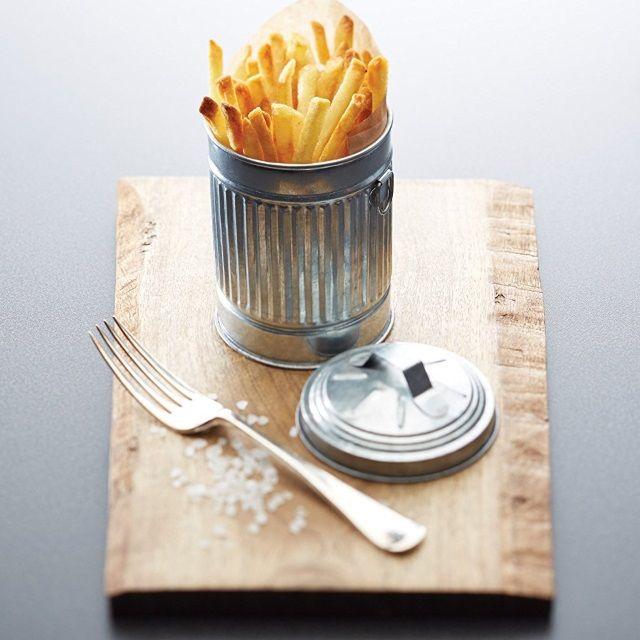 Mini Serving Bin in Steel 12cm from the Artesa Range by KitchenCraft - ARTMINIBIN