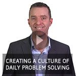 How do you create a culture where all your people are solving problems and improving your business every day? Our latest Lean Minute Video will show you how. http://txm.com.au/video/txm-lean-minute-video-creating-culture-daily-problem-solving