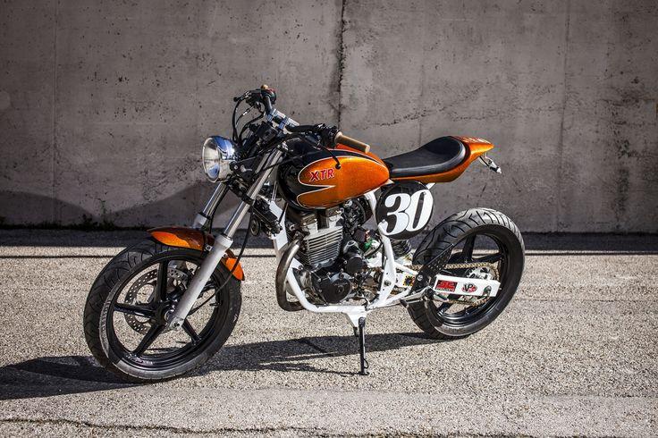 XTR Pepo Tracker Mk2, una humilde Honda CBF250 convertida en maravilla trendy