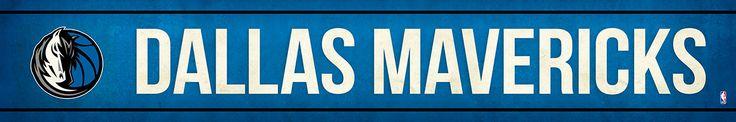 Dallas Mavericks Street Banner $19.99