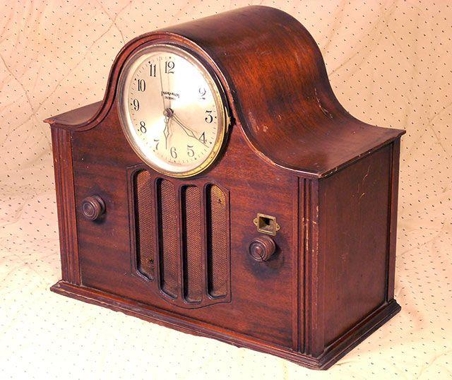 United American Bosch Clock Radio, c. 1931-32 | Vintage ...