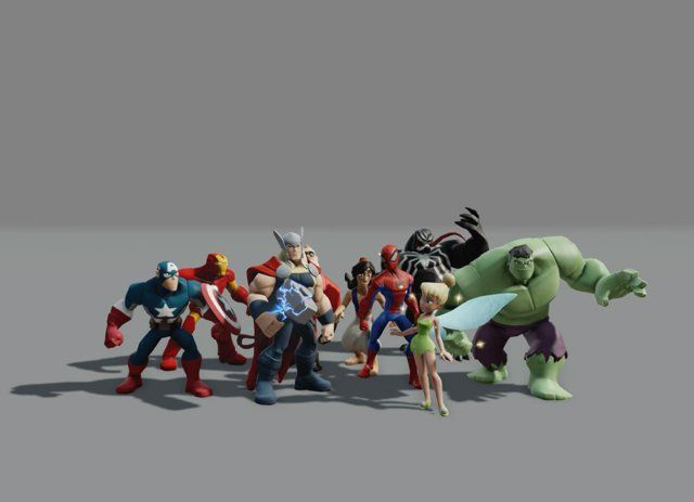 Here are a bunch of characters I animated on Disney Infinity 1 and 2. This is predominantly combat animation. Mostly this is a collection of playblasts from Maya of combat animation in the concept and blocking phase of animation. Many of these are in stepped mode as that is how I prefer to work when concepting out animation. These playblasts are to show in dailies and get feedback. Typically I don't do a second round of playblasts after splining and polishing the animations, so to give ...