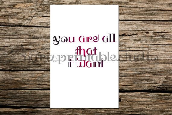 1st anniversary gift instant download wall by MarisPrintableStudio