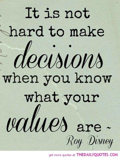 Making Hard Decisions Quotes. QuotesGram by @quotesgram