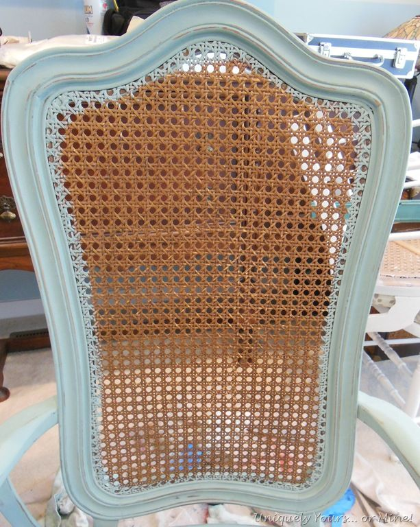 This is exactly what I've been looking for to renew my dining set!!! Upcycle cane back chairs