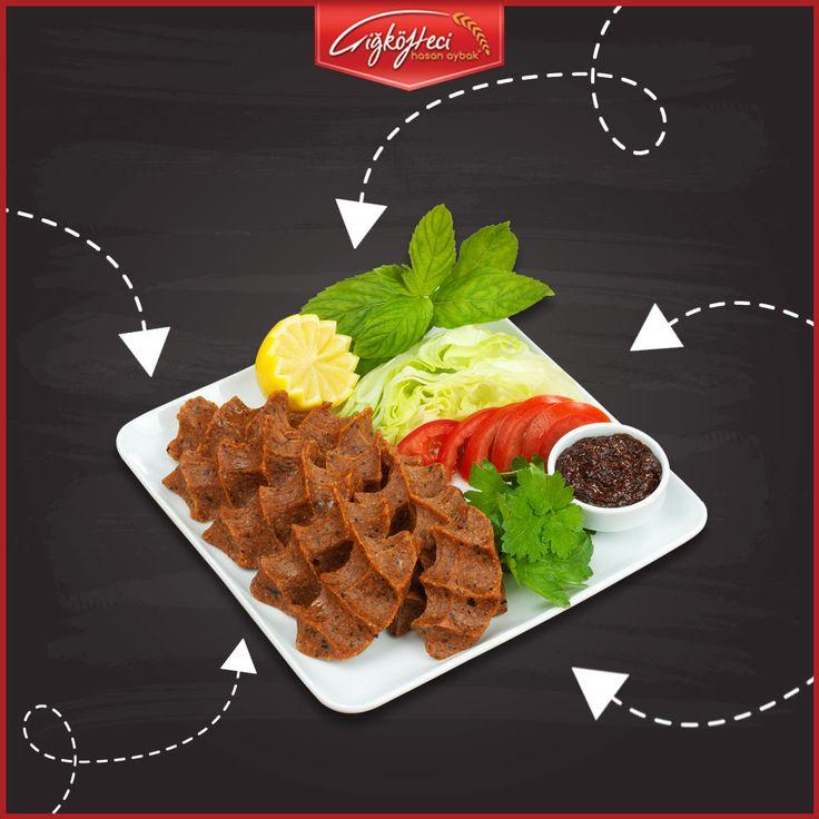 Açlığını lezzetle gidermek isteyenlerin buluşma noktası, #çiğköftecihasanaybak! ;) #çiğköfte #lezzet