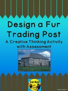 Have your students use their creative, critical and historical thinking skills to demonstrate what they have learned about life in Early Canada during the fur trade.  Students are hired by the Hudson's Bay Company to scout out a new location for a fort in the new world.