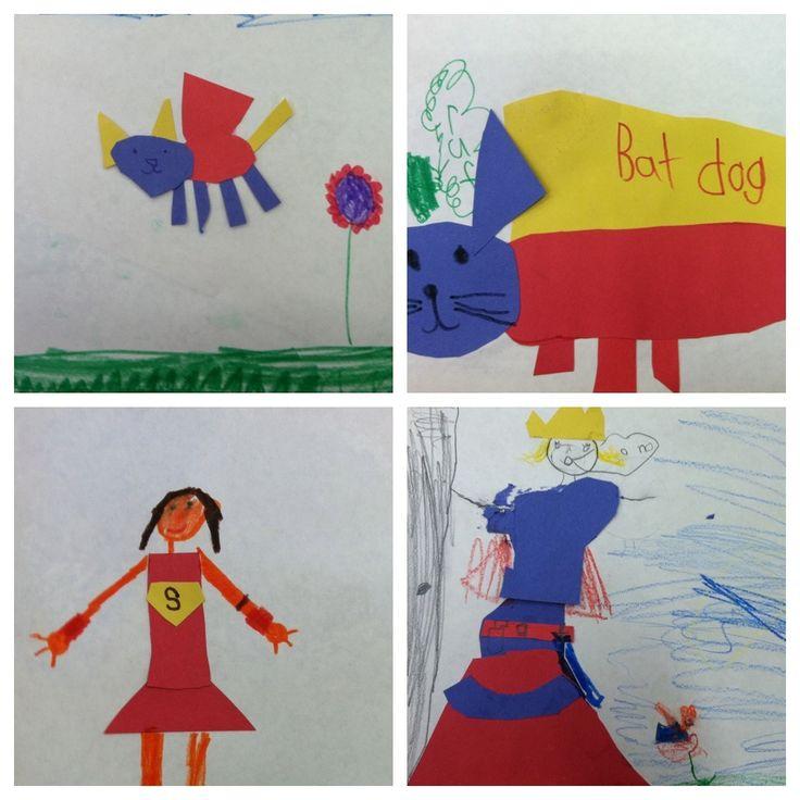 Primary Color Super Heros.