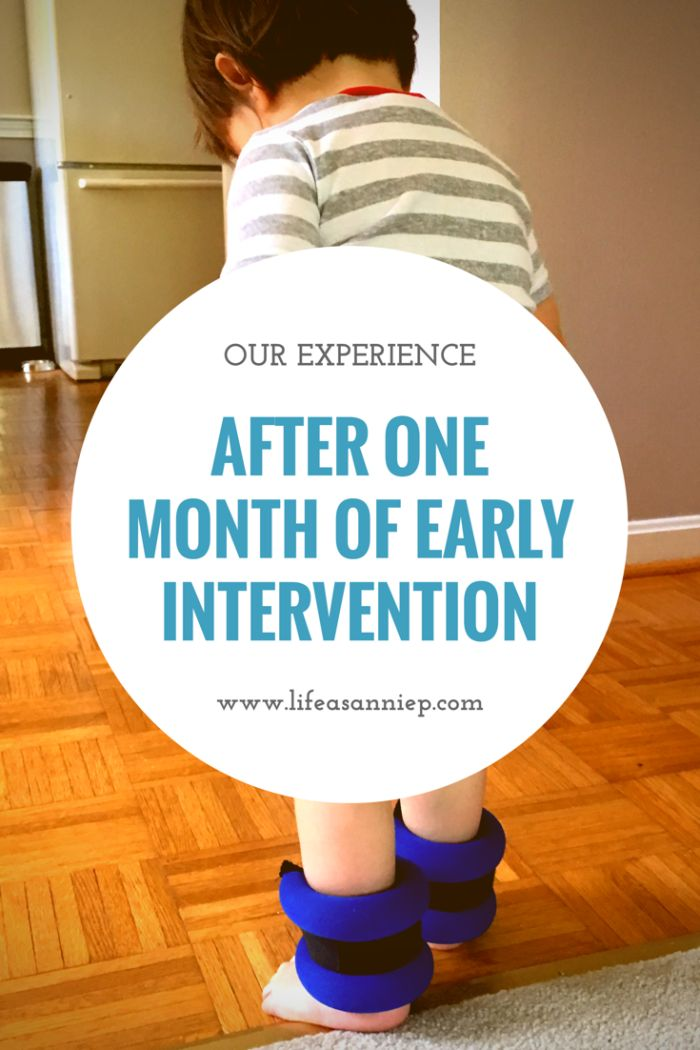 Our Experience After One Month of Early Intervention