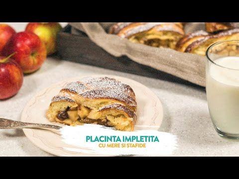 Placinta impletita cu mere si stafide | Culinar