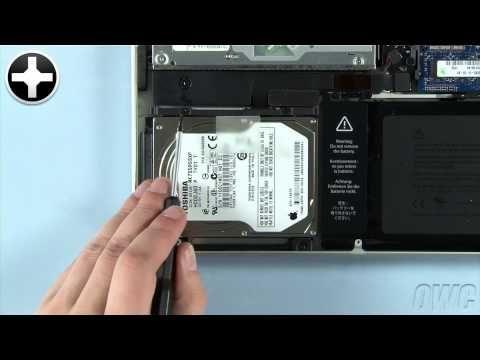 How to Upgrade MacBook Pro Hard Drive (Unibody, 2009-2012) @ EveryMac.com