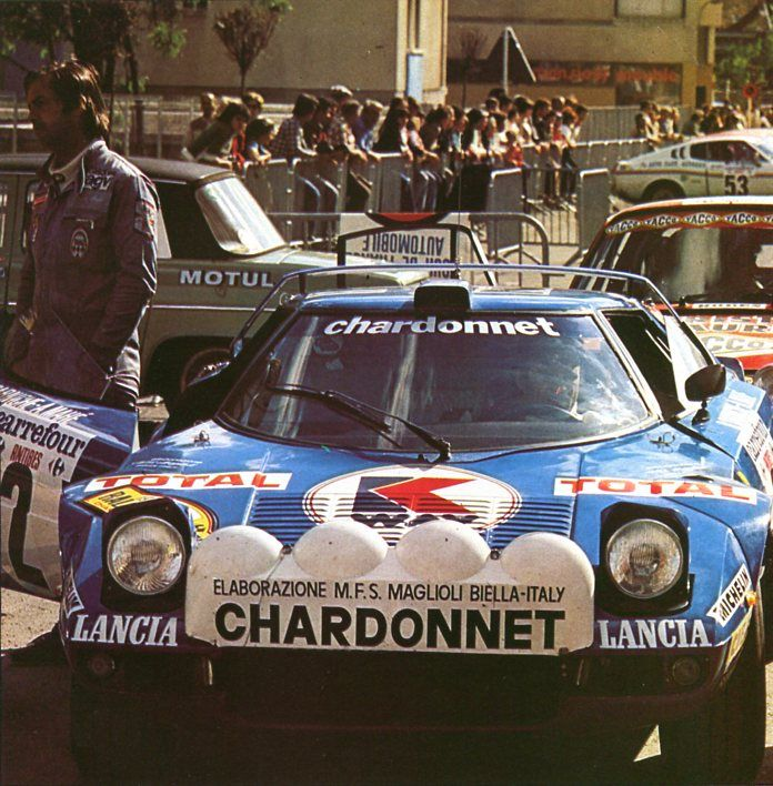Darniche / Mahé (Lancia Stratos) rallye d'Antibes 1978 - AUTOhebdo août 1978.