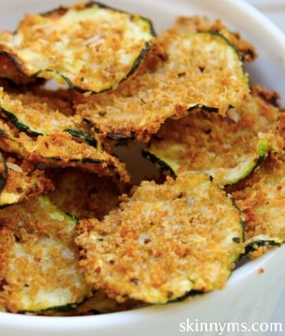 Oven baked zucchini chips | Favorite Recipes | Pinterest