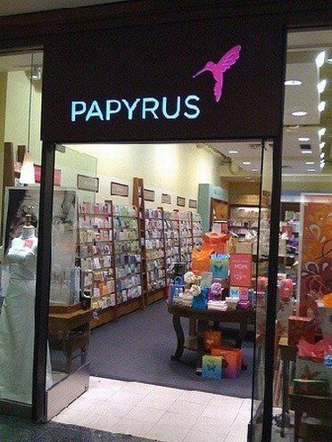 Papyrus cards and gifts