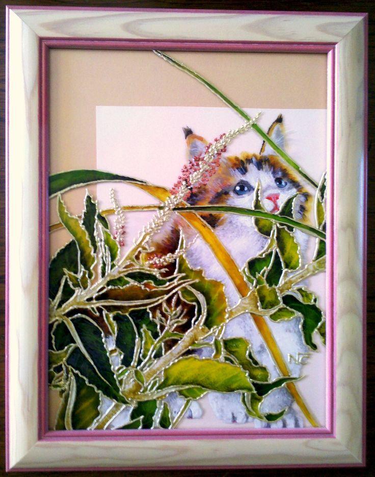 les 44 meilleures images propos de tableaux peintures sur verre sur pinterest hibiscus. Black Bedroom Furniture Sets. Home Design Ideas