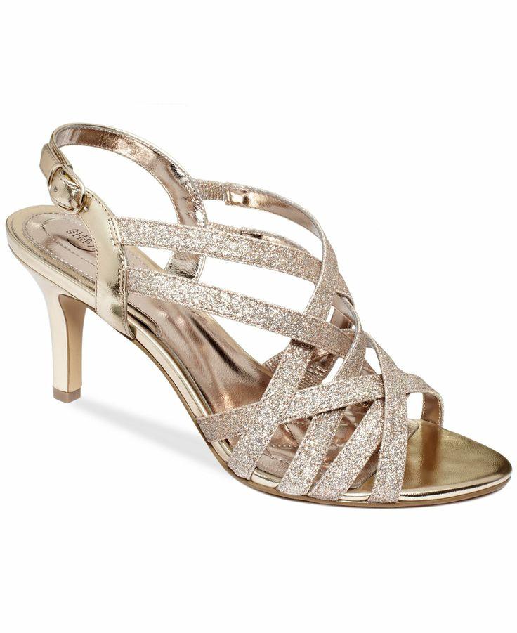 Alfani Women S Alisa Evening Sandals Shoes Macy