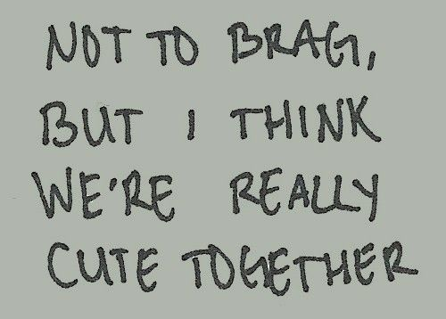 I think we are<3 :) The fact that you are beautiful makes that true. xo.