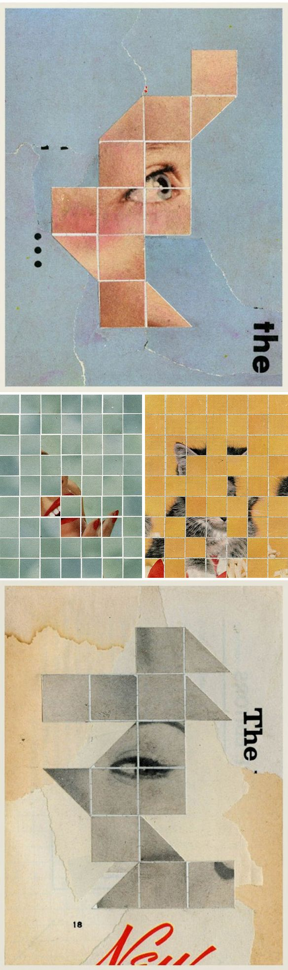 anthony gerace - collage: There Must Be More to Life Than This