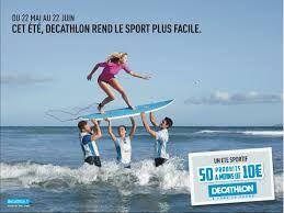 Decathlon è il primo negozio a cui mi sono rivolta quando ho cominciato ad acquistare abbigliamento ed accessori per il surf: buon rapporto prezzo e qualità, e tanto tanto colore! Mi piace perché è per tutti, accessibile a tutti! E poi mi piacciono molto le  loro campagne pubblicitarie : simpatiche, moderne, originali!