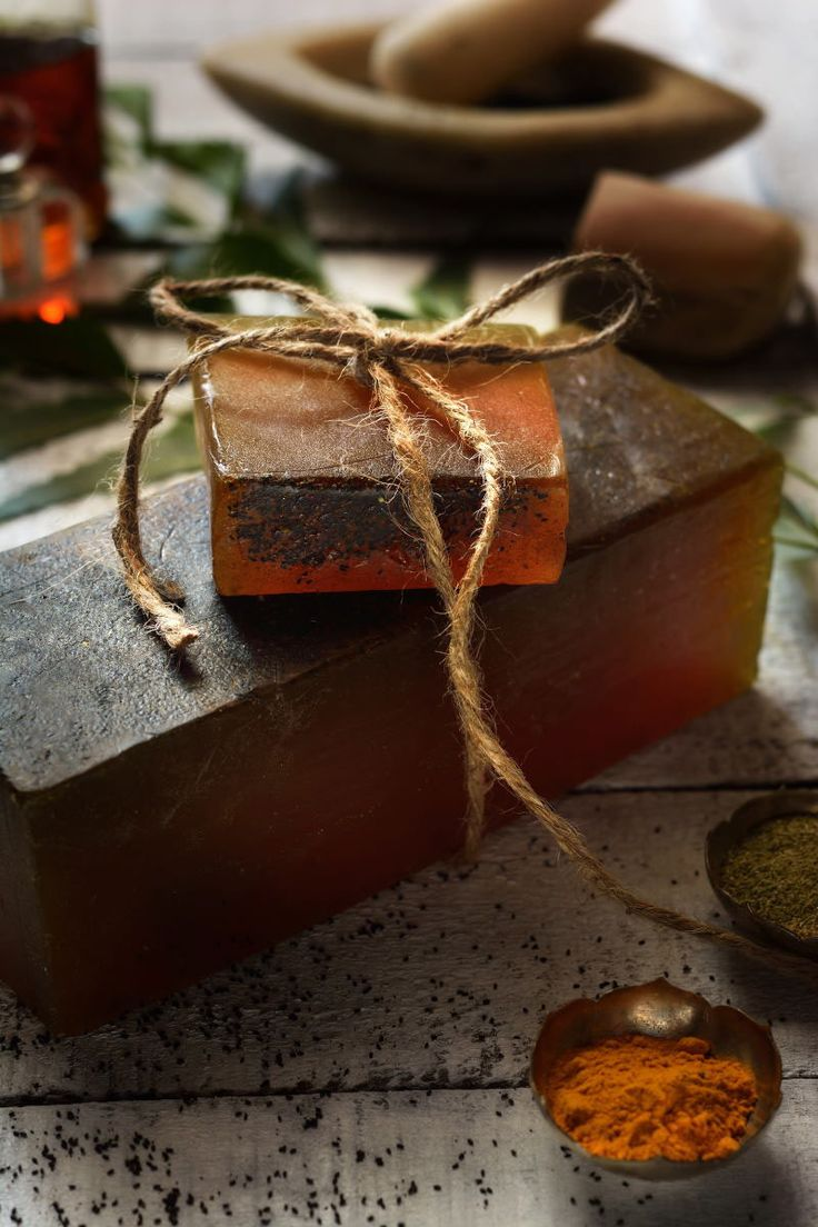 #herbal #soap #turmeric #handmade #photography