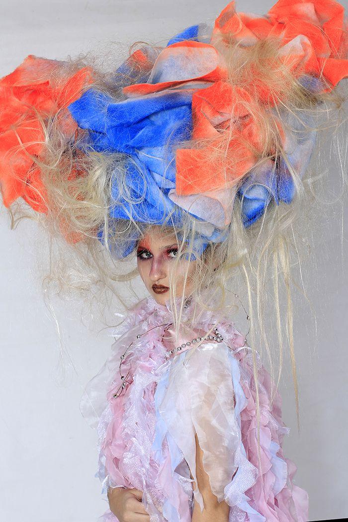Арт-образ, фантазийная прическа, фейс-арт, макияж, арт-костюм от КАПИ