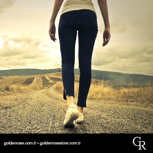Sağlıklı bir yaşam için günde 40‐45 dakika yürüyüş yapmaya özen göstermelisin!