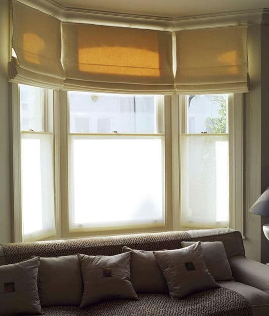 Privacy blinds and curtains for daytime use are usually a transluscent voile or sheer. Read about good options to keep out burglars and nosey neighbours.