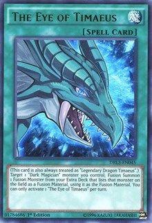 The Eye of Timaeus holo yugioh card #2