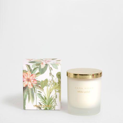 CANDELA AROMATICA WHITE PETAL - Special Edition - Profumo | Zara Home Italia