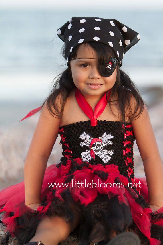 Pirate Costume Pirate Cruise Tutu Pirate Birthday Dress