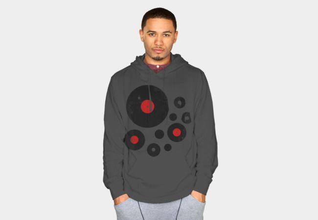 Vinyl Records Retro Music DJ! Vintage Sweatshirt - Design By Humans