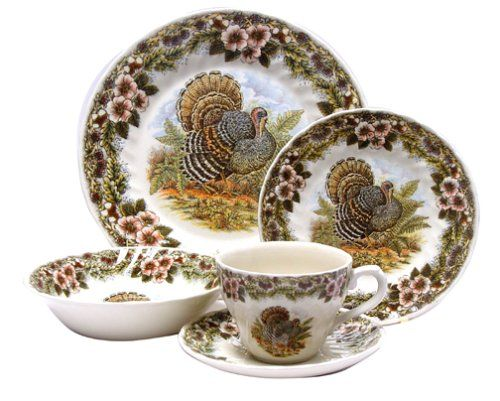 Thanksgiving Turkey tea set!