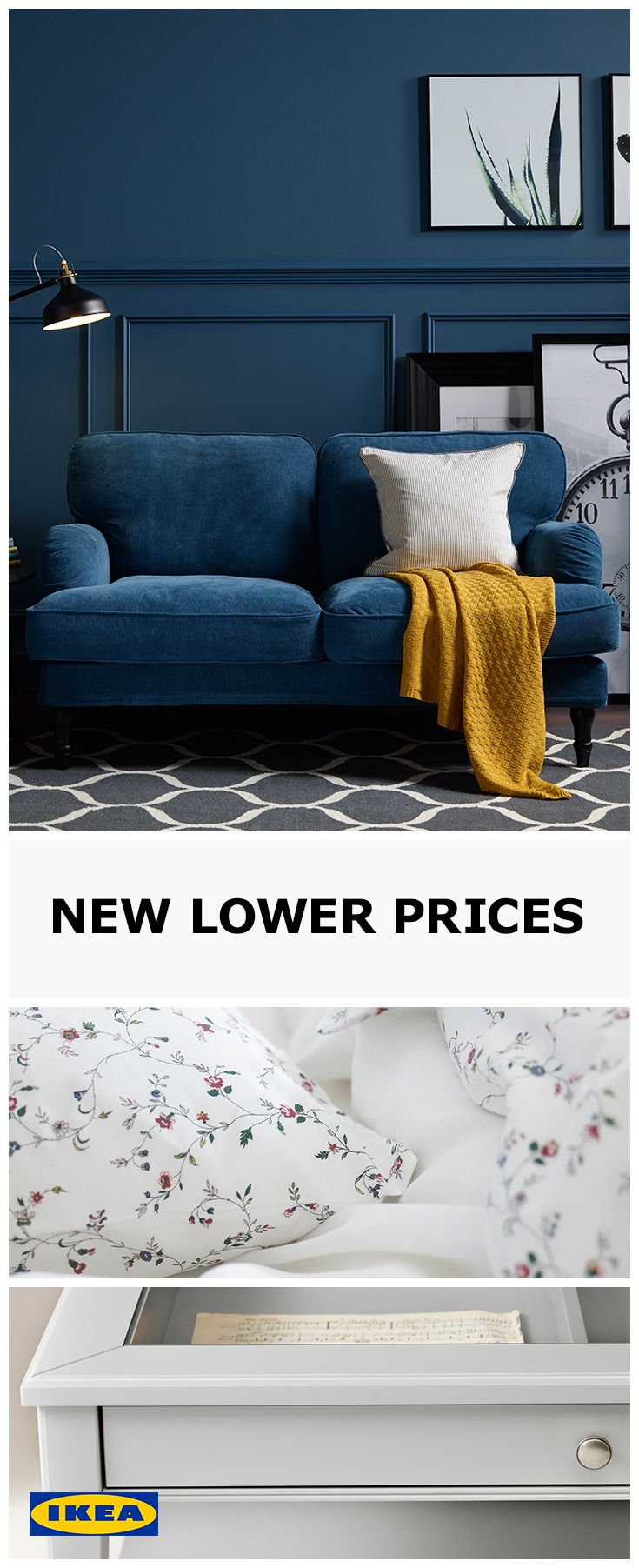 Keep an eye out for our 'New Lower Price' tag, it means we've managed to find a way to bring down the cost without compromising quality. From design and production, to more efficient packaging, we're making it more affordable than ever to furnish your entire home.